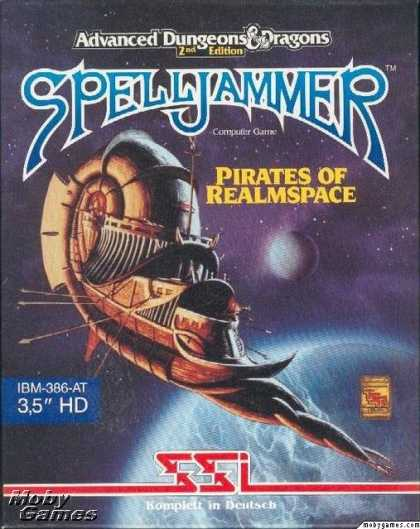 DOS Games - Spelljammer: Pirates of Realmspace