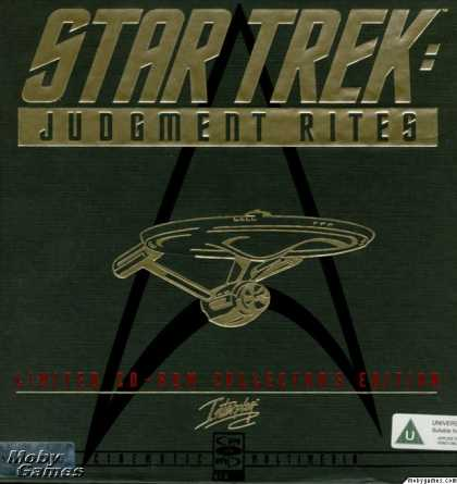 DOS Games - Star Trek: Judgment Rites (Limited CD-ROM Collector's Edition)
