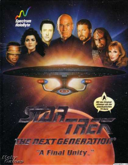 DOS Games - Star Trek: The Next Generation - A Final Unity