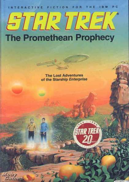 DOS Games - Star Trek: The Promethean Prophecy