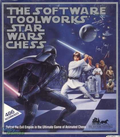 DOS Games - Star Wars Chess