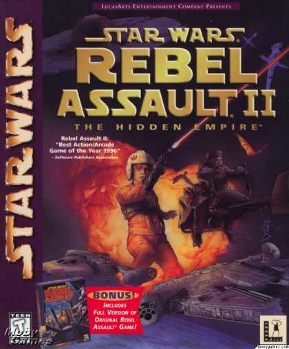 DOS Games - Star Wars: Rebel Assault I & II