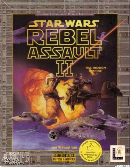 DOS Games - Star Wars: Rebel Assault II - The Hidden Empire