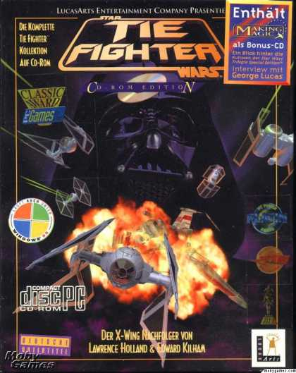 DOS Games - Star Wars: TIE Fighter