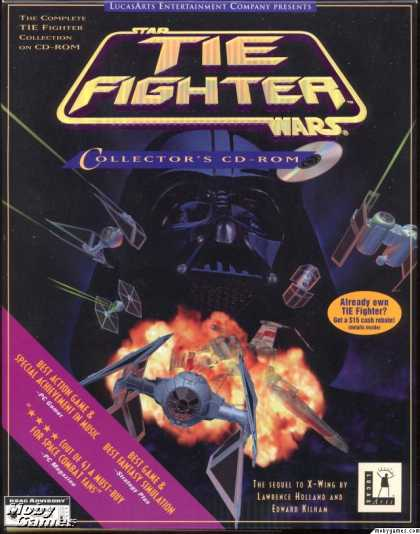 DOS Games - Star Wars: TIE Fighter (Collector's CD-ROM)