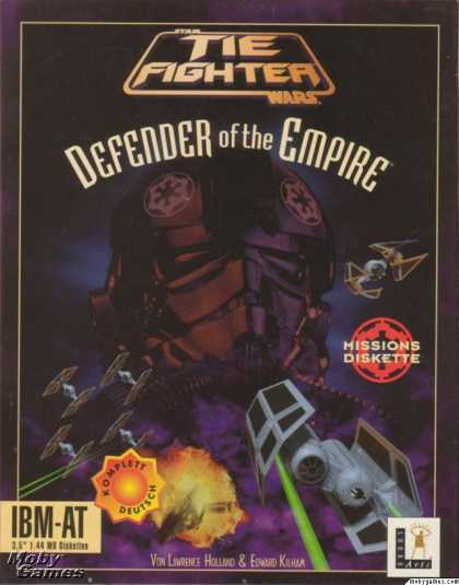 DOS Games - Star Wars: TIE Fighter - Defender of the Empire