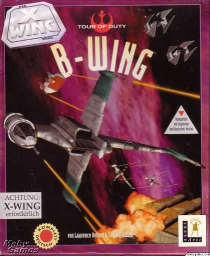DOS Games - Star Wars: X-Wing - B-Wing