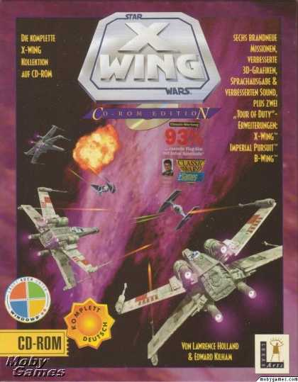 DOS Games - Star Wars: X-Wing (Collector's CD-ROM)