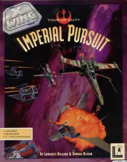 DOS Games - Star Wars: X-Wing - Imperial Pursuit