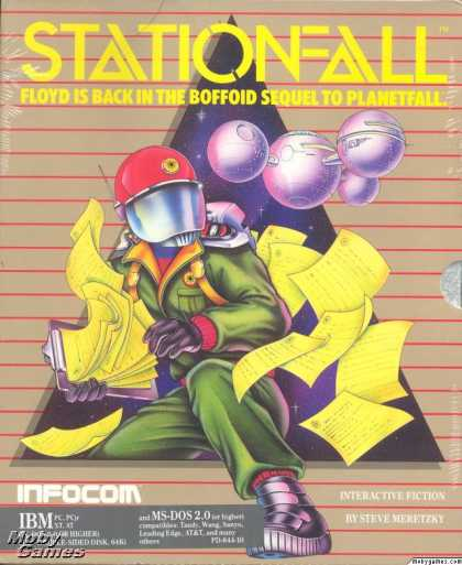 DOS Games - Stationfall