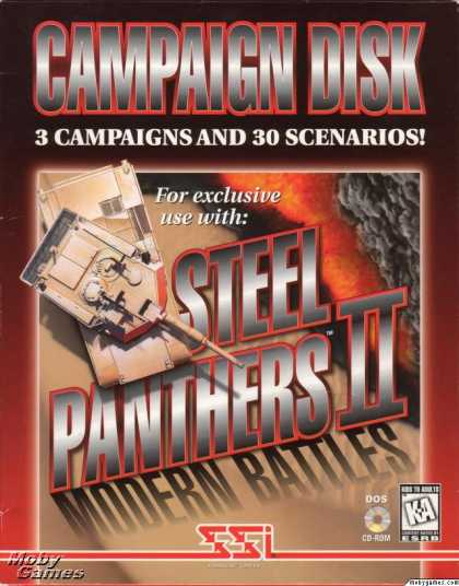 DOS Games - Steel Panthers 2: Modern Battles: Campaign Disk