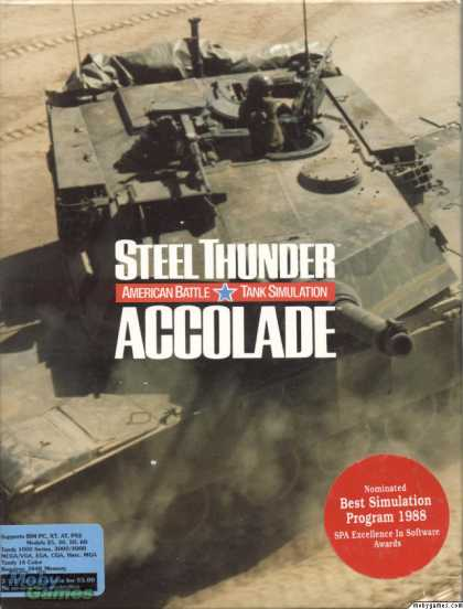 DOS Games - Steel Thunder