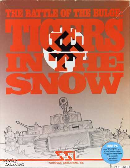 DOS Games - The Battle of the Bulge: Tigers in the Snow