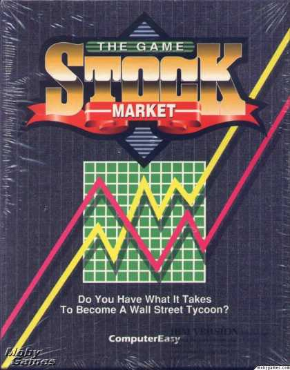 DOS Games - Stock Market: The Game