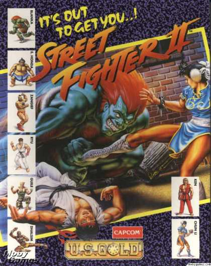 DOS Games - Street Fighter II