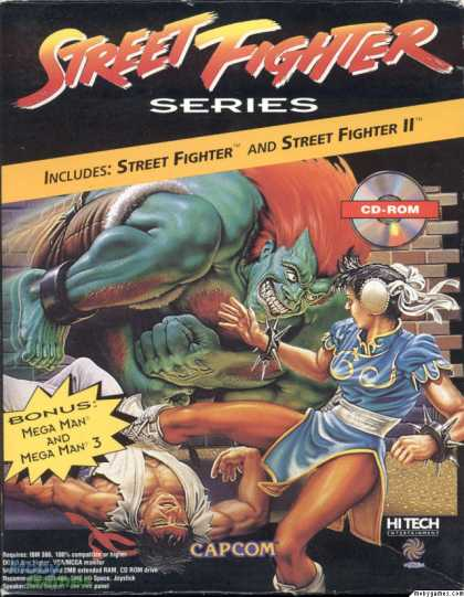 DOS Games - Street Fighter Series