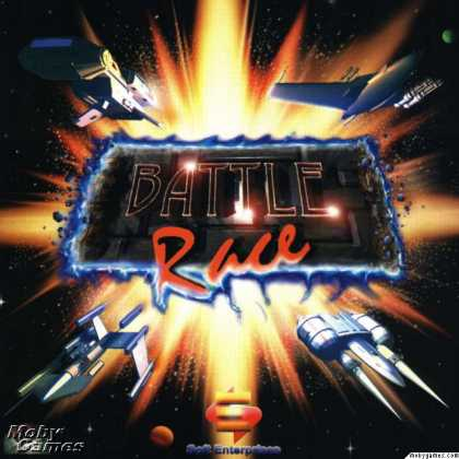 DOS Games - Battlerace
