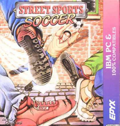 DOS Games - Street Sports Soccer