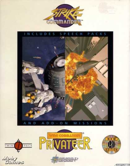 DOS Games - Strike Commander and Privateer TwinPack