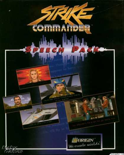 DOS Games - Strike Commander Speech Pack