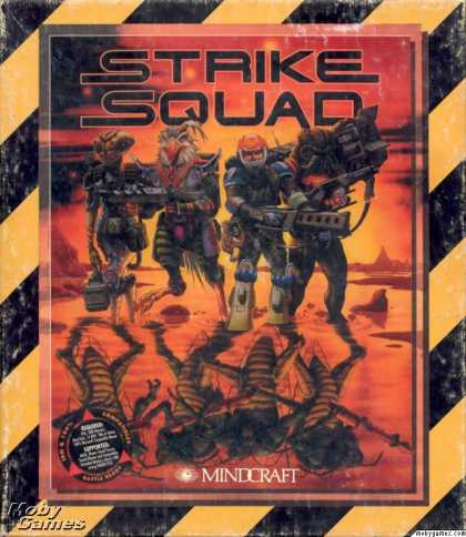 DOS Games - Strike Squad