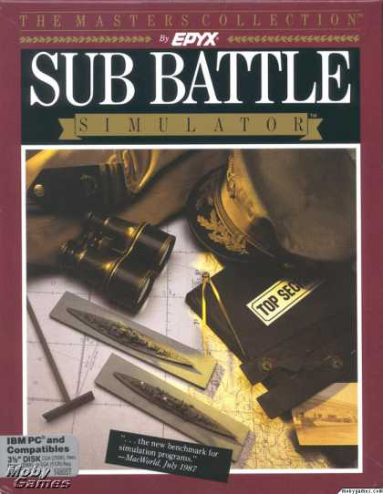 DOS Games - Sub Battle Simulator