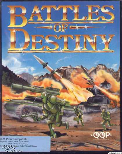 DOS Games - Battles of Destiny