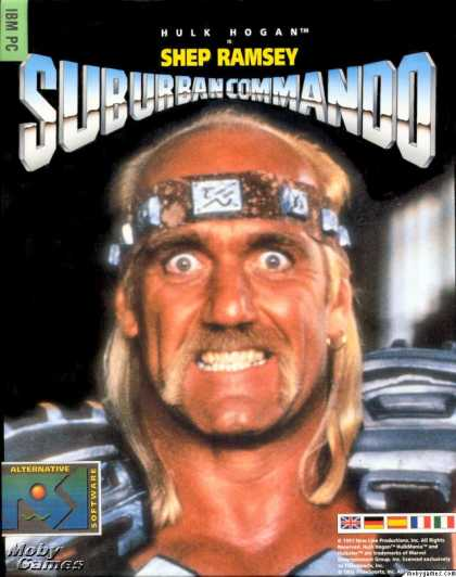DOS Games - Suburban Commando