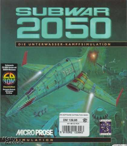 DOS Games - Subwar 2050