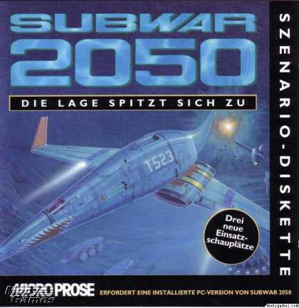 DOS Games - Subwar 2050: The Plot Deepens