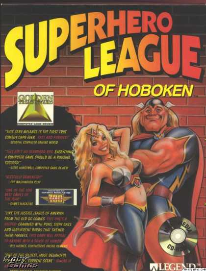 DOS Games - Superhero League of Hoboken