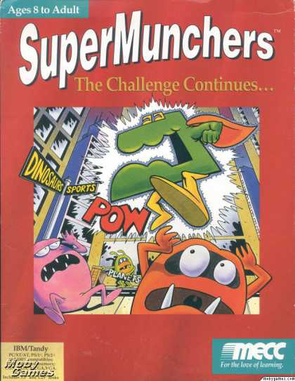 DOS Games - Super Munchers