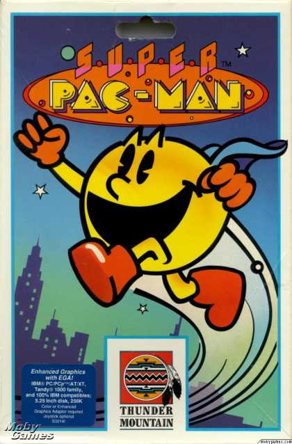 DOS Games - Super Pac-Man