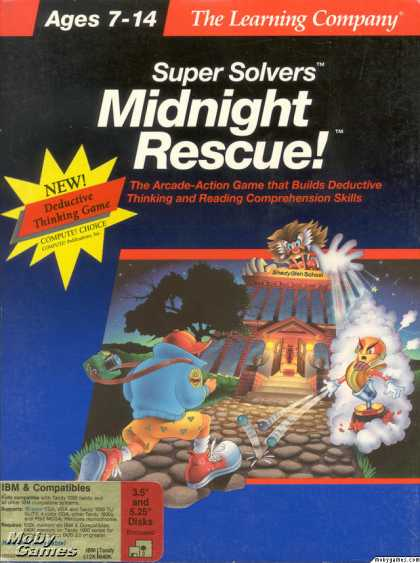 DOS Games - Super Solvers: Midnight Rescue!