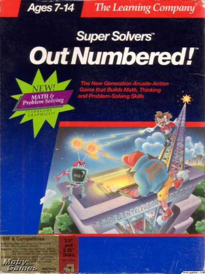 DOS Games - Super Solvers: OutNumbered!