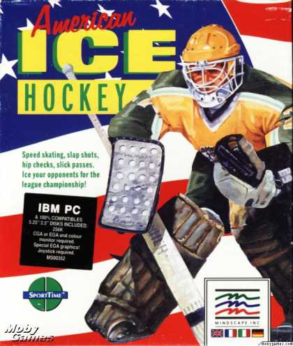 DOS Games - Superstar Ice Hockey