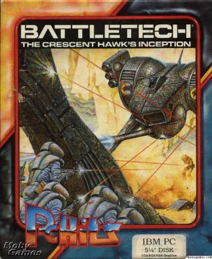 DOS Games - BattleTech: The Crescent Hawk's Inception