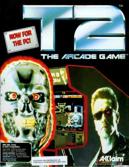 DOS Games - T2: The Arcade Game