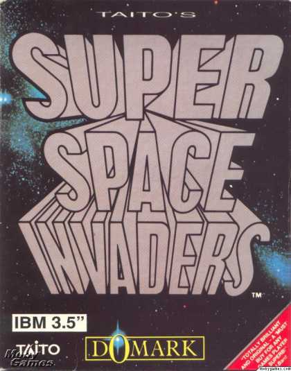 DOS Games - Taito's Super Space Invaders