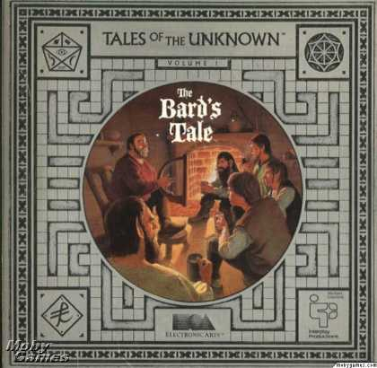 DOS Games - Tales of the Unknown, Volume I: The Bard's Tale