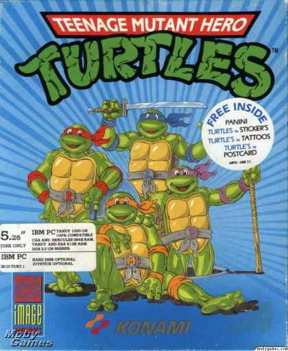 DOS Games - Teenage Mutant Ninja Turtles