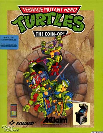 DOS Games - Teenage Mutant Ninja Turtles II: The Arcade Game