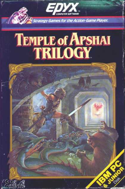 DOS Games - Temple of Apshai Trilogy