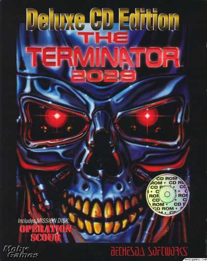 DOS Games - The Terminator 2029 - Deluxe CD Edition