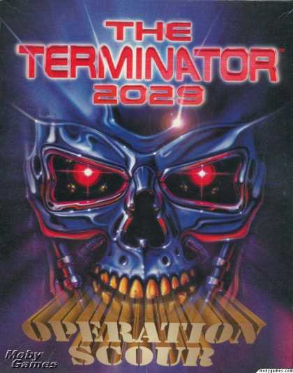DOS Games - The Terminator 2029: Operation Scour