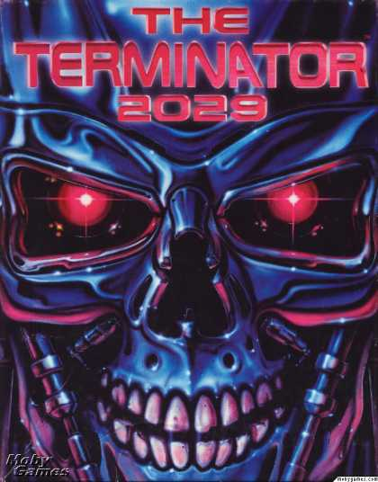 DOS Games - The Terminator 2029