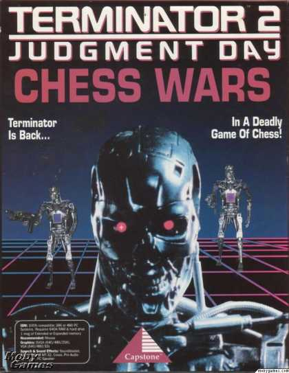 DOS Games - Terminator 2: Judgment Day - Chess Wars