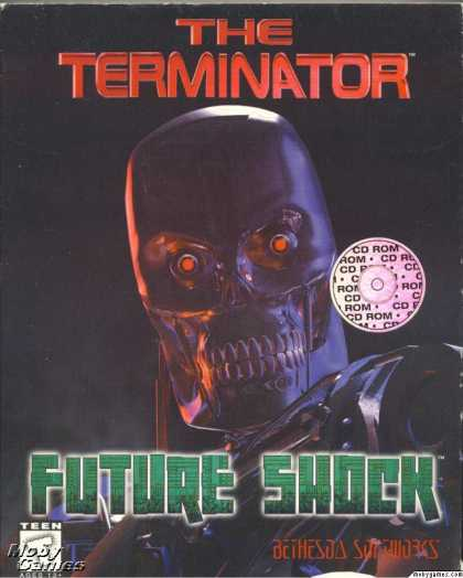 DOS Games - The Terminator: Future Shock