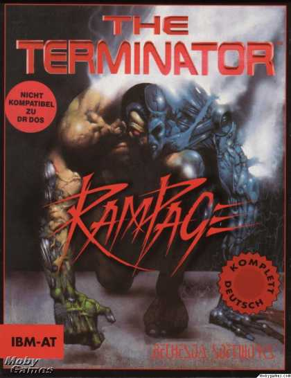 DOS Games - The Terminator: Rampage