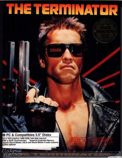 DOS Games - The Terminator